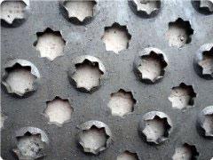 八角孔防滑板