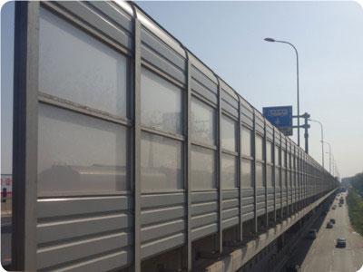 桥梁隔音屏-声屏障厂家承接高速铁路隔音墙
