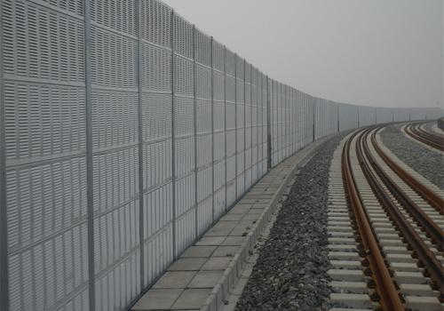 铁路声屏障施工图展