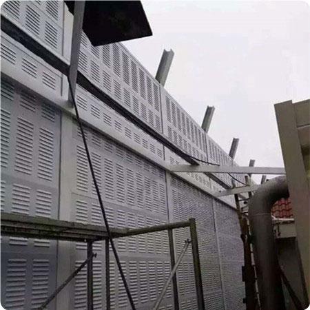 冷却塔声屏障板安装图